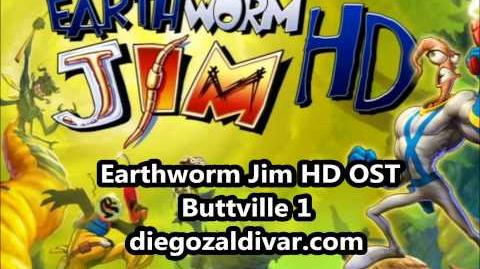 Earthworm Jim HD Music - Buttville 1