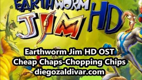 Earthworm Jim HD Music - Cheap Chaps-Chopping Chips