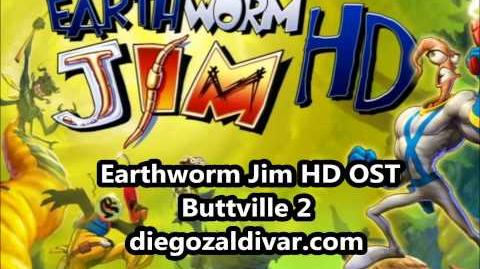 Earthworm Jim HD Music - Buttville 2