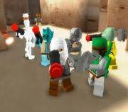 Lego Bounty Hunter Group