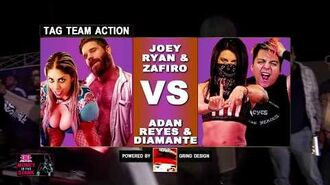 Joey Ryan & Zafiro Vs Adan Reyes & LAX's Diamante - Elite Wrestling Entertainment