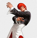 Iori-yagami-kof-98-ol-male-game-character-png-clipart