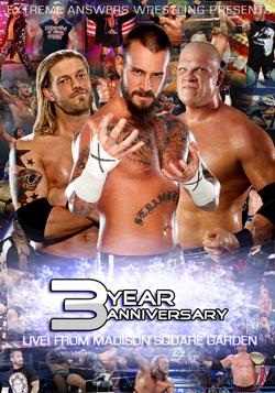 EAW 3-Year Anniversary