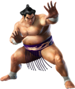 Ganryu - CG Art Image - Tekken 6 Bloodline Rebellion