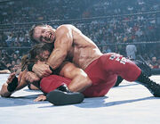 SummerSlam 2002 - Chris Benoit Vs RVD 01