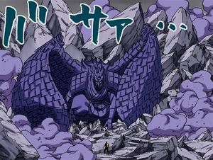 Sasuke protects Team 7