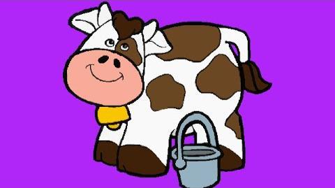 JumpStart Toddlers (1996) - Peek-A-Boo Cow Song