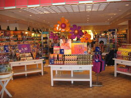 Inside Bath and Body Works