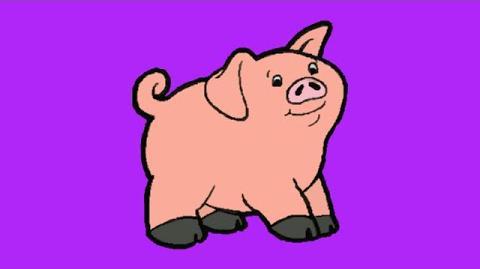 JumpStart Toddlers (1996) - Peek-A-Boo Pig Song