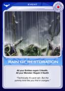 Rain of Restoration