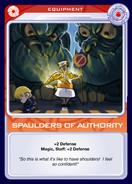 Spaulders of Authority