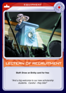 Lectern of Recruitment