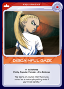 Disdainful Gaze