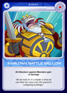 Karutan Battle Bellow