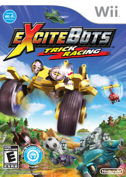 Excitebots Trick Racing cover
