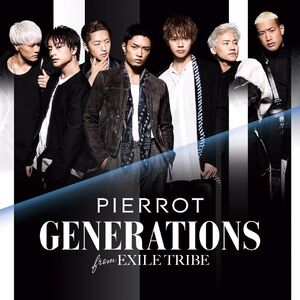 GENERATIONS - PIERROT CD only
