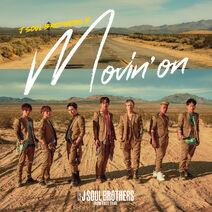 Sandaime J SOUL BROTHERS - Movin' on DVD cover