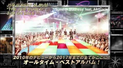 Sandaime J Soul Brothers from EXILE TRIBE - THE JSB WORLD (TV SPOT)