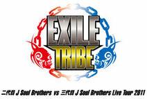 Nidaime vs Sandaime J Soul Brothers Live Tour 2011 Keishou logo