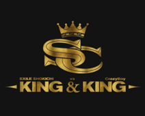 EXILE SHOKICHI vs CrazyBoy KING and KING logo