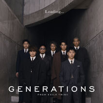 GENERATIONS - Loading CD only cover