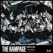 THE RAMPAGE - INVISIBLE LOVE CD only cover