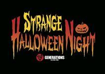 GENERATIONS - LIVE ONLINE STRANGE HALLOWEEN NIGHT logo