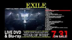 """EXILE - EXILE LIVE TOUR 2018-2019 """"STAR OF WISH"""" LIVE DVD & Blu-ray (Digest)"""