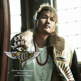 EXILE ATSUSHI - 40 forty DVD cover