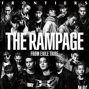 THE RAMPAGE - FRONTIERS CD only