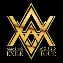 EXILE LIVE TOUR 2015 AMAZING WORLD logo