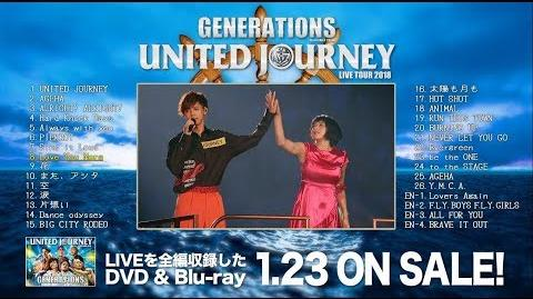 GENERATIONS from EXILE TRIBE - GENERATIONS LIVE TOUR 2018 UNITED JOURNEY (Digest Movie)