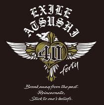 EXILE ATSUSHI - 40 ~forty~ logo