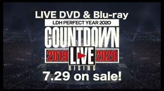 "LDH PERFECT YEAR 2020 COUNTDOWN LIVE 2019▶2020 ""RISING"" (TEASER)"