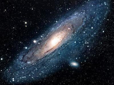 Galaxy universe-normal