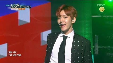 EXO-CBX (첸백시) Hey Mama! KBS MUSIC BANK 2016.11