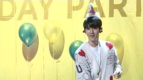 'Hey Mama!' MV EVENT EXO BAEKHYUN BIRTHDAY PARTY HIGHLIGHT