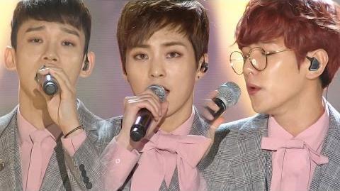 《BOF》 EXO-CBX(첸백시) - For You (너를 위해) (보보경심 려 OST) @인기가요 Inkigayo 20161030