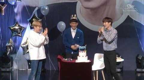 'Hey Mama!' MV EVENT EXO CHEN BIRTHDAY PARTY HIGHLIGHT