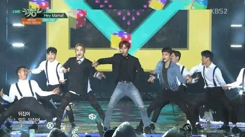 EXO-CBX (첸백시) Hey Mama! KBS MUSIC BANK 2016.11.18