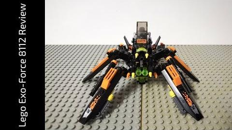 Lego Exo-Force 8112 Arachnoid Stalker Review (HD)