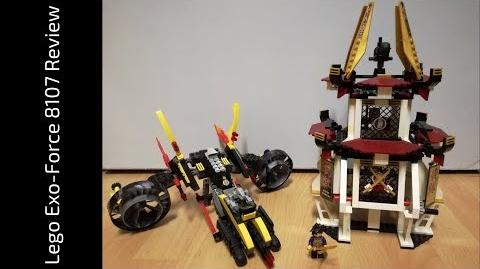 Lego Exo-Force 8107 Fight for the Golden Tower Review (HD)