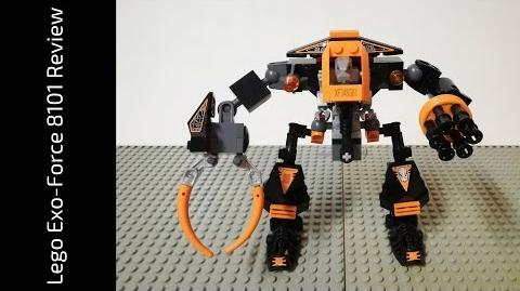 Lego Exo-Force 8101 Claw Crusher Review (HD)