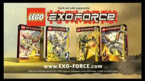LEGO EXO FORCE 2007 spot tv