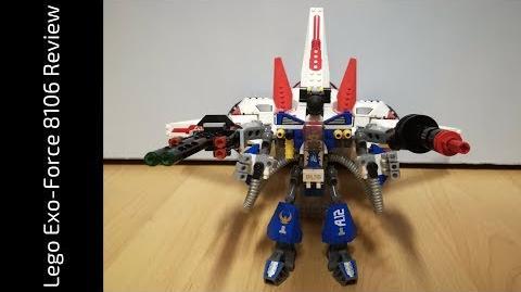 Lego Exo-Force 8106 Aero Booster (HD)
