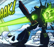 Thunder Fury being killed by Supernova