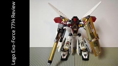 Lego Exo-Force 7714 Golden Guardian Review (HD)