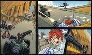 Gate Assault Comic