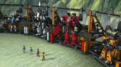 Sentai Fortress Repair bay 2