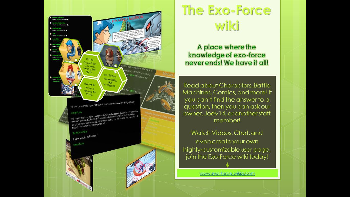 Exo-Force infotab